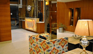 The Ambassador Hotel Reception